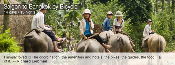Saigon to Bangkok by Bicycle