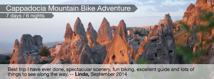 Cappadocia Mountain Bike Adventure