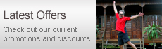 Latest Offers - Check out our current promotions and discounts