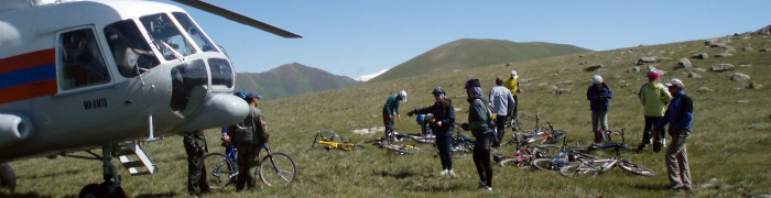 Mountain Biking Kazakhstan and Kyrgyzstan