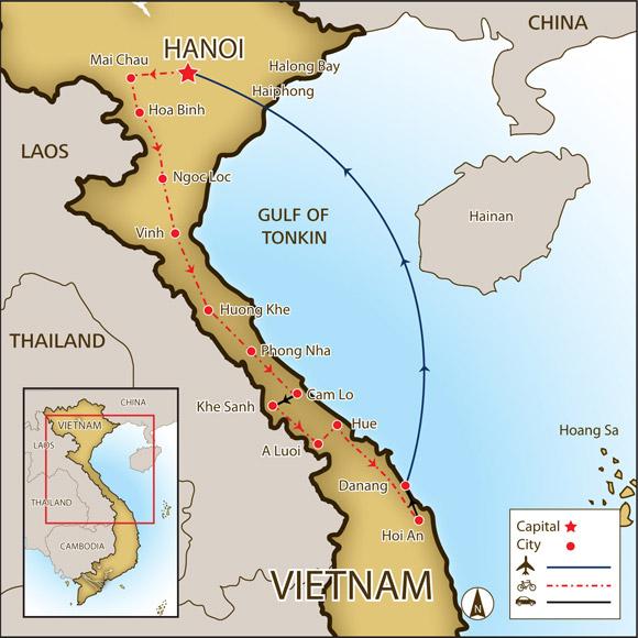 Ho Chi Minh Trail by Jordan Fields on Prezi