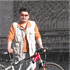 Has been a bicycle guide for 8 years in Mongolia.