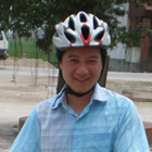 Binh, from Northern Vietnam, travels to remote areas in his free time, by bicycle and motorcycle.