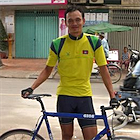 Veng, means tall in Khmer, and Veng lives up to his name. Is the leader of the Cambodian cycling team, having won the national title three times, and competes internationally in road bike events.