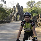 Pheap's great passion is cycling and he loves to take people around Cambodia.